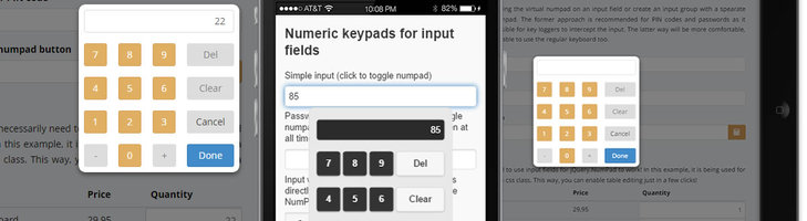 jQuery.NumPad - virtual numeric touch keypad