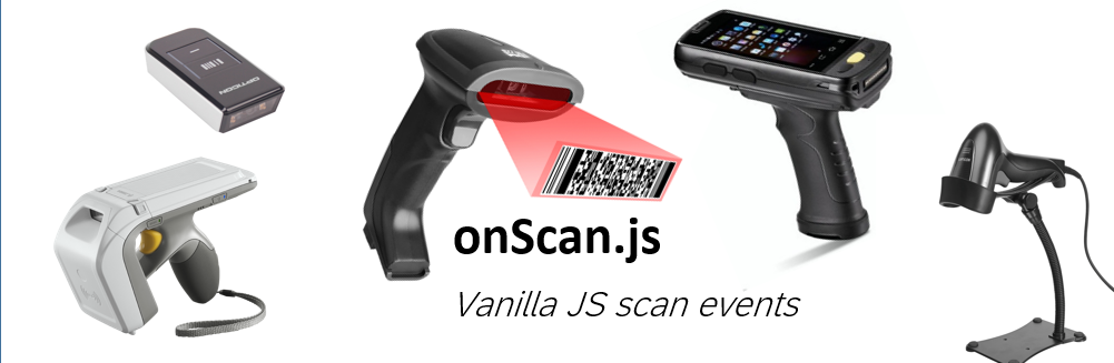 onScan.js - use hardware barcode and RFID scanners in web apps